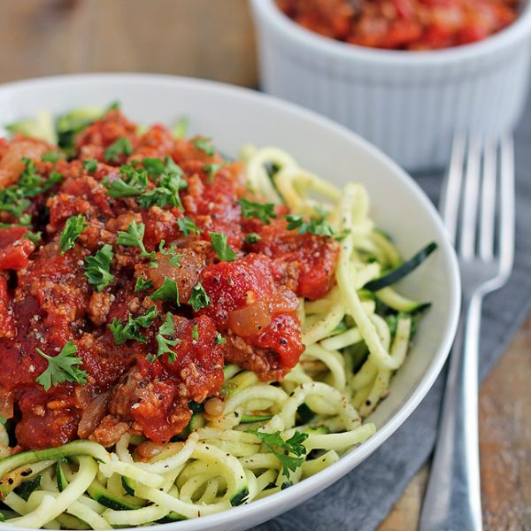 Zucchini-Beef-Bolognese