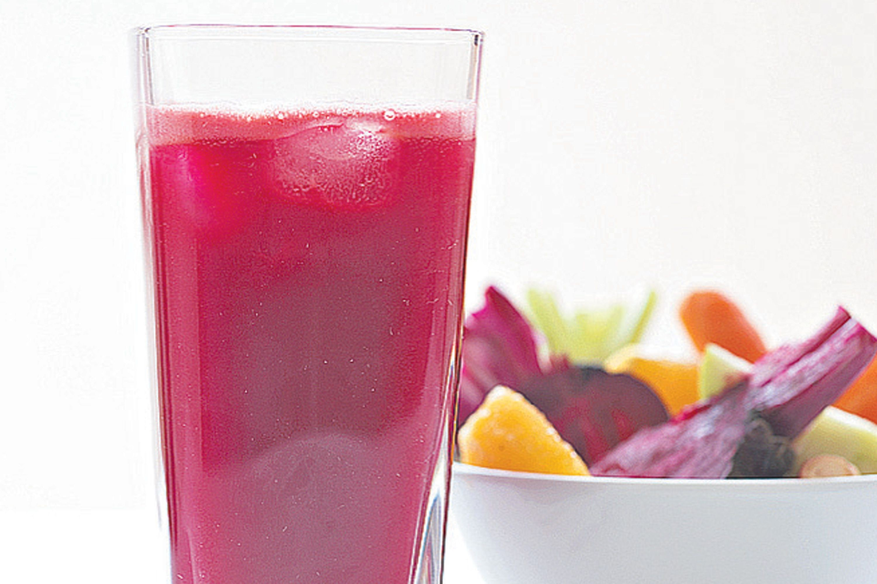 Beet, Carrot, and Apple Juice with